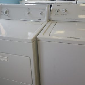 DOMESTIC WASHER AND DRYER
