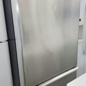 Stainless bottom mount fridge
